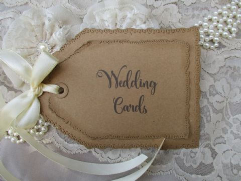 Kraft Tag Cards Sign